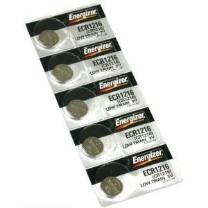 5 CR1216 Energizer Watch Batteries Lithium Battery Cell