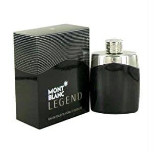 Mont Blanc Legend by Mont Blanc - Men - Eau De Toilette Spray 3.3oz