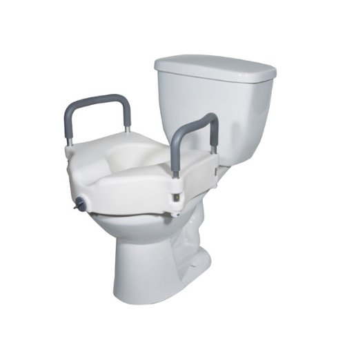 Marvelous Drive Medical Deluxe Elevated Raised Toilet Seat With Creativecarmelina Interior Chair Design Creativecarmelinacom