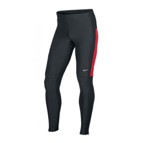 Nike NIKE Men's Filament Tight, Black/Red, M