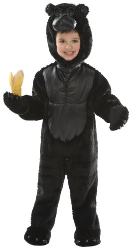 Just Pretend Kids Gorilla Animal Costume, Small