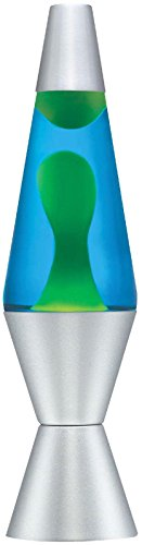 Lava Lamp-14.5 Yellow/Blue