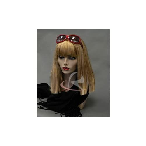 (MD PH17) Realistic Female Mannequin Head Flesh Tone Pretty make up