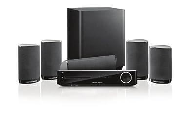 Harman Kardon BDS 7772 Integrated 3D Blu-Ray Disc System with 5.1-Ch Digital Amplifier from Harman Kardon