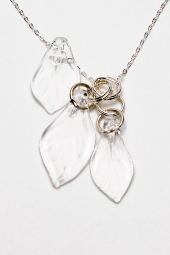 Necklace: Leaf Cluster