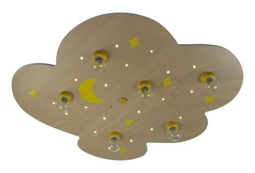 Niermann Standby Ceiling Lamp LED, Wood, X-Large