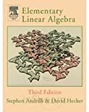 img - for Elementary Linear Algebra, 3rd Edition book / textbook / text book