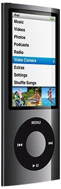 Apple iPod Nano Caméra Vidéo 16 Go (5ème Génération) - Noir