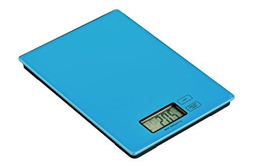 Premier Housewares 0807260 Zing Balance de Cuisine Electronique Verre Bleu