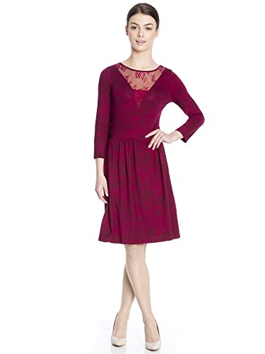 Vive Maria 33403, Vestito Donna, Rosso (red allover red allover), 44