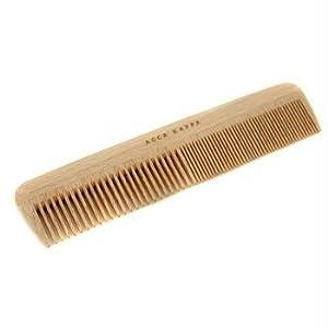 Wooden Comb, Fine Coarse Teeth (Length 17.5cm) - 1pcs