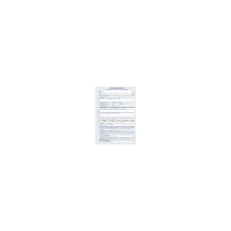 Herlitz Vordruck Mietvertrag A4 Wohnraum Bürobedarf On Popscreen