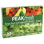 """Peakfresh Produce Bags 12"""" X 16"""" 10 front-337018"""