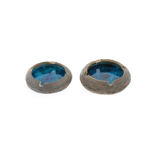 ashtray-set-of-2-round-blue-ceramic-glass-handmade-diameter-12cm-47
