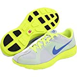 NIKE Lunaracer+ Men's Running Shoes, White/Yellow/Blue, UK9.5