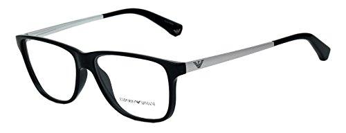 Emporio Armani Wayfarer Sunglasses (Black) (EA19BL54)