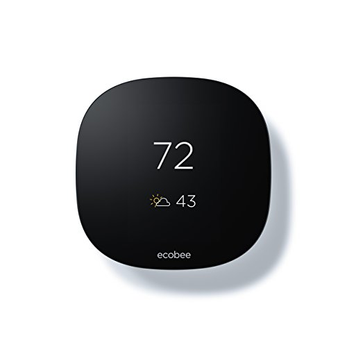 Ecobee3 Lite Thermostat, Wi-Fi, Works with Amazon Alexa