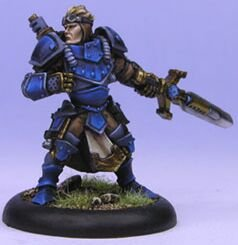 Privateer Press - Cygnar - Journeyman Warcaster Model Kit