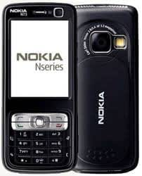 Replacement Faceplate Black Housing Body Panel For Nokia N73