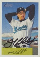 Josh Beckett Florida Marlins 2002 Bowman Heritage Autographed Hand Signed Trading... by Hall+of+Fame+Memorabilia