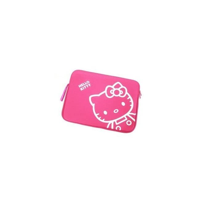 72af2f9a2 14inch Rose Pink Hello Kitty Style Laptop Case/Bag by Lulu Accessories