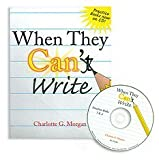img - for When They Can't Write by Charlotte G. Morgan (2001-12-01) book / textbook / text book