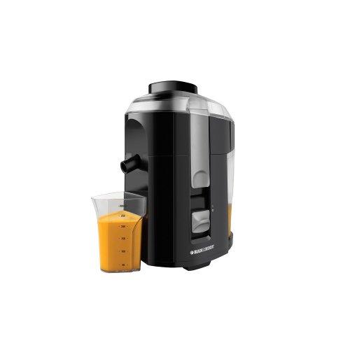 Black & Decker Je2200 400-Watt Fruit And Vegetable Juice Extractor With Custom Juice-Cup, 220-240-Volt