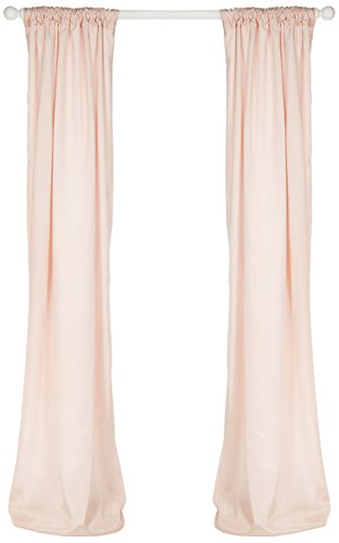 Sweet Potato Lil' Princess Drapery Panels, Pink