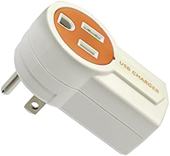 Syba CL-ADA60008 Rotatable USB Charger