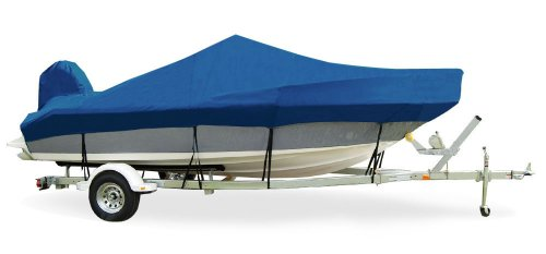 TAYLOR MADE PRODUCTS Trailerite Semi-Custom Boat Cover for V-Hull Fishing Boats with Inboard//Outboard Motor