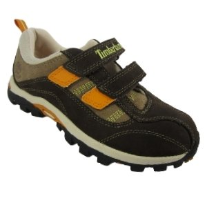 Timberland Boys Hypertrail Waterproof H&L Oxford Trainers - Brown