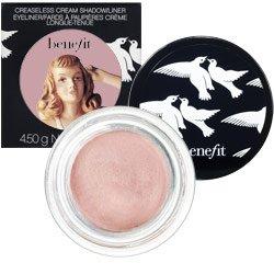 Benefit Cosmetics creaseless cream shadow/liner - stiletto - eyeshadow and eyeliner