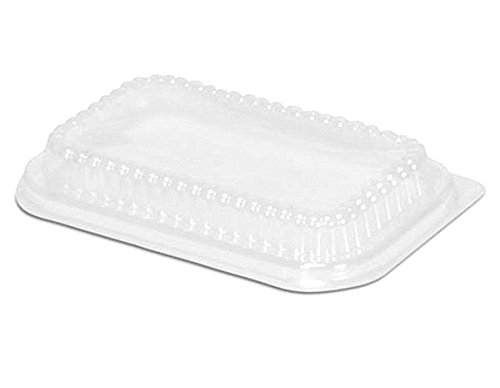 Handi-Foil Clear Plastic Dome Lid for 1 lb. Aluminum Foil Loaf Pan (pack of 50)