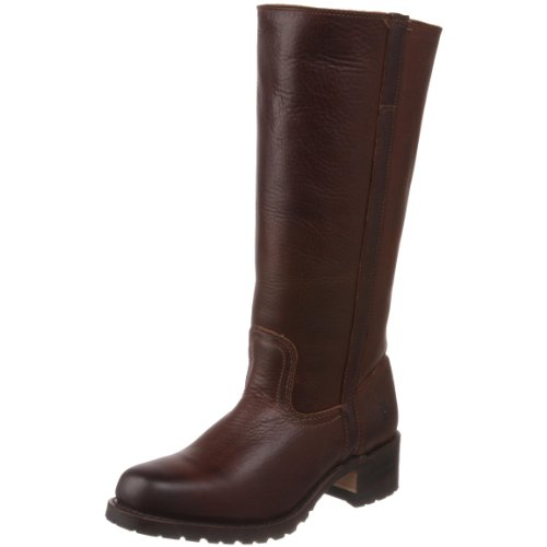 Frye Women's Campus 14G Shearling Chocolate Pull On Boots 77048 8 UK