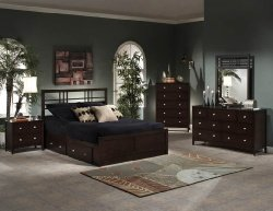 Hillsdale Tiburon Kona Bedroom Set Storage Bed - 5 Pc. King Size