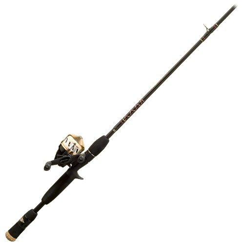 Zebco prostaff 2020602m spincast fishing rod and reel for Open reel fishing pole