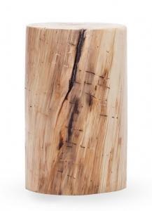 Tavolino da salotto sgabello tronco legno tavolino natural for Tronchi di legno per arredamento