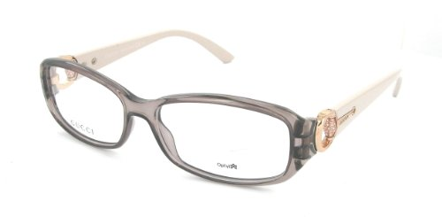 gucci eyeglasses womens gg3204 q70 off white descriptiondescripionframe coloroff whitelens color demogenderwomenssize lens bridge temple 140made