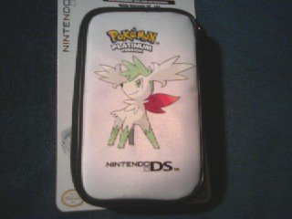 Dsi/DSLite Pokemon Platinum Game Traveler Case Shaymin - White