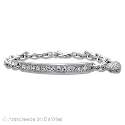 Annaleece Crystal Jewelry Uptown Girl - Bracelet