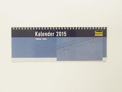 IDENA Schreibtisch Kalender / Schreibtischquerkalender 2015