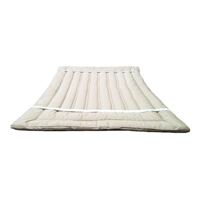 Organic Merino Wool Mattress Topper Size: California King front-1046934