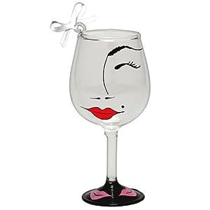 Lolita Flirt Mini Wine Ornament Retired - Beverage Vino Bar ORN5-5575V