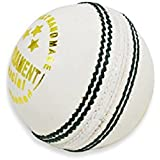Kolagen Sports Tournament White Leather Cricket Ball- Pack Of 2 Ball