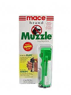 Review Of Mace Brand Muzzle Dog Repellent Pepper Spray