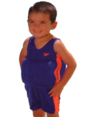 Boys Blue Speedo Flotation Swimming Suit Polywog Buoy