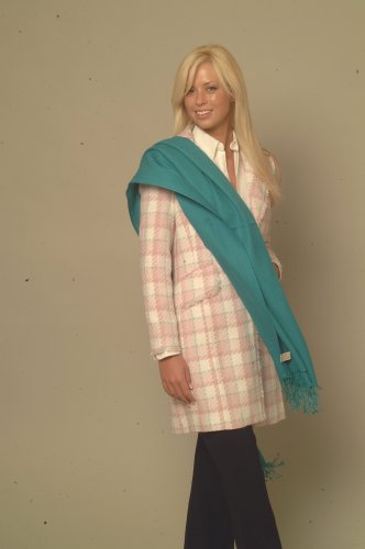 PASHMINA SHAWL (LARGE) IN BOTTLE GREEN color from CASHMERE PASHMINA GROUP