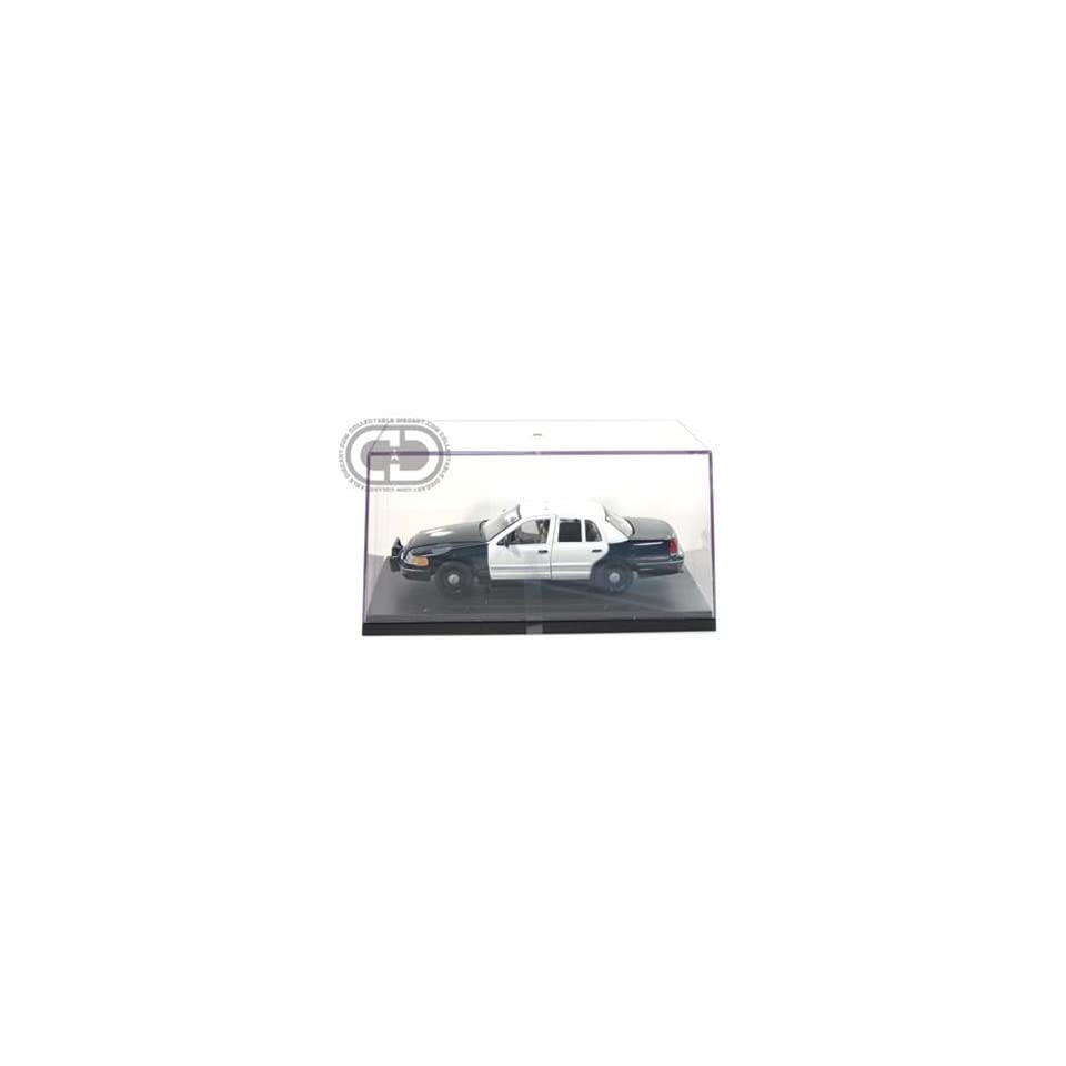 1999 Ford Crown Victoria Blank Police Car 1/27 (Black & 4 White Doors)