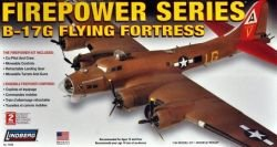 B-17g Flying Fortress Air Plane 1:64 Scale Plastic Model Kit