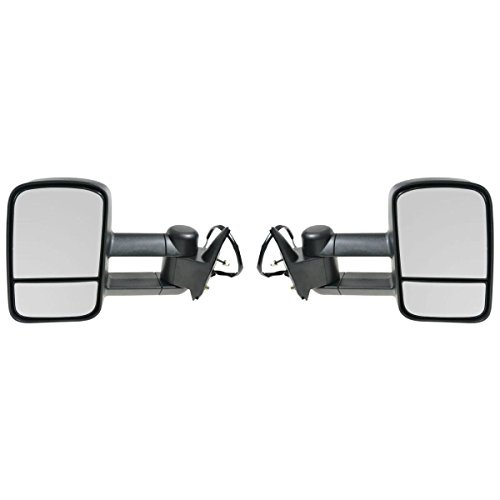 Chevrolet Gmc C K 1500 2500 3500 Truck 88 - 98 Tow Power Mirror Left Right Set (98 Chevy 1500 Tow Mirrors compare prices)